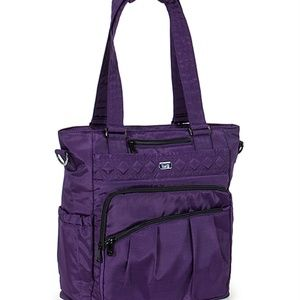 Lug Ace Tote  - brushed Concord
